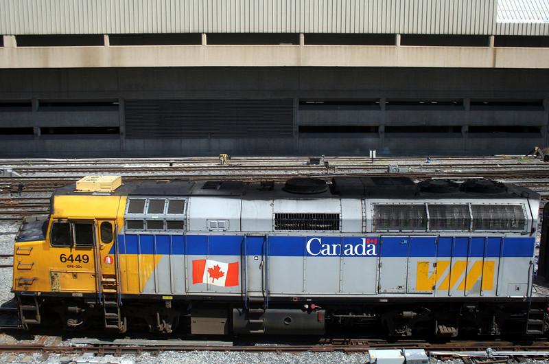 Full View of VIA Locomotive