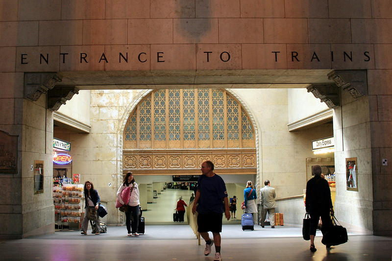 Union Station - Entrance to Trains