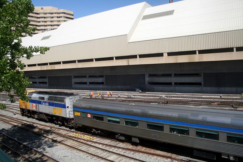 VIA Train Passing