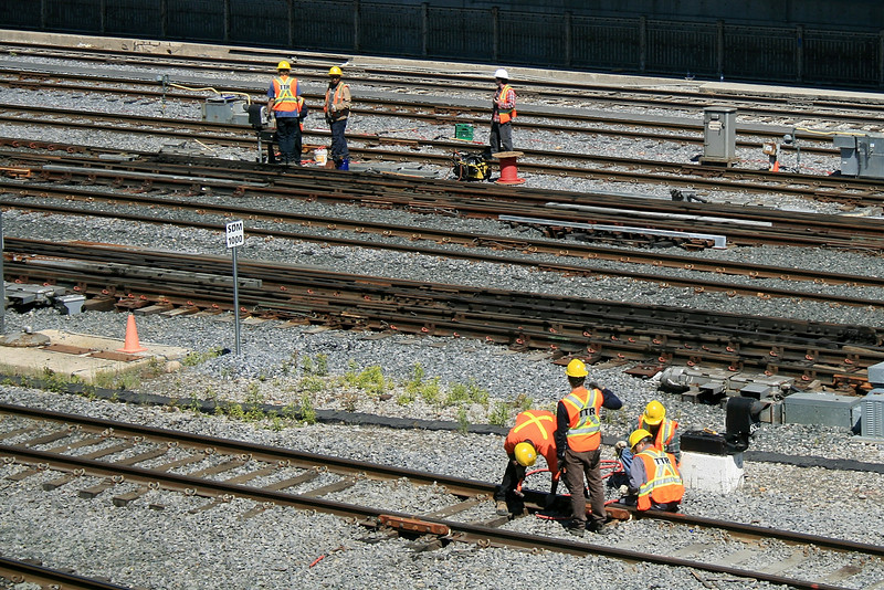 Rail Yard Workers
