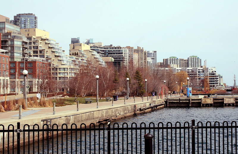 Harbourfront View with Fence