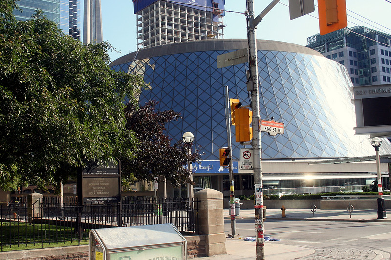Thomson Centre from the Streetcar