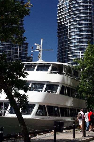Cruise Boat and Highrises
