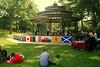 Gazebo in Kew Gardens Park