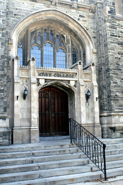Knox College Door