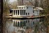 White Houseboat