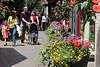 Pedestrians with Flowerpots