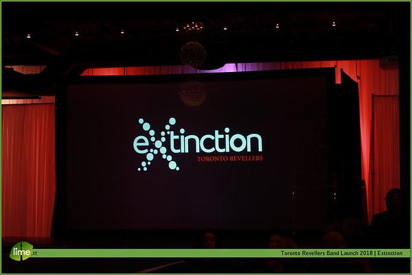 Toronto Revellers Band Launch 2018 Extinction