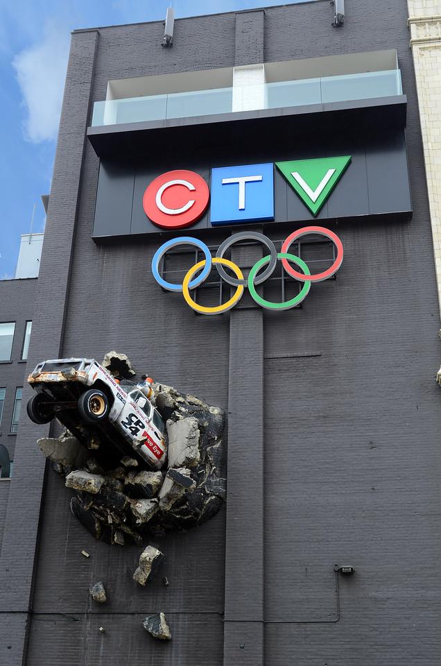 CTV building on Queen St