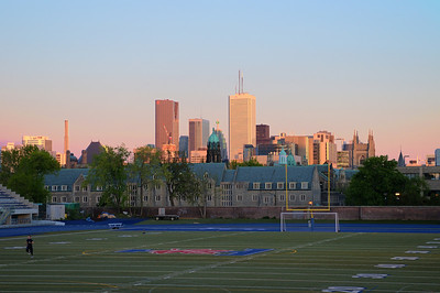 U of T stadium looking south
