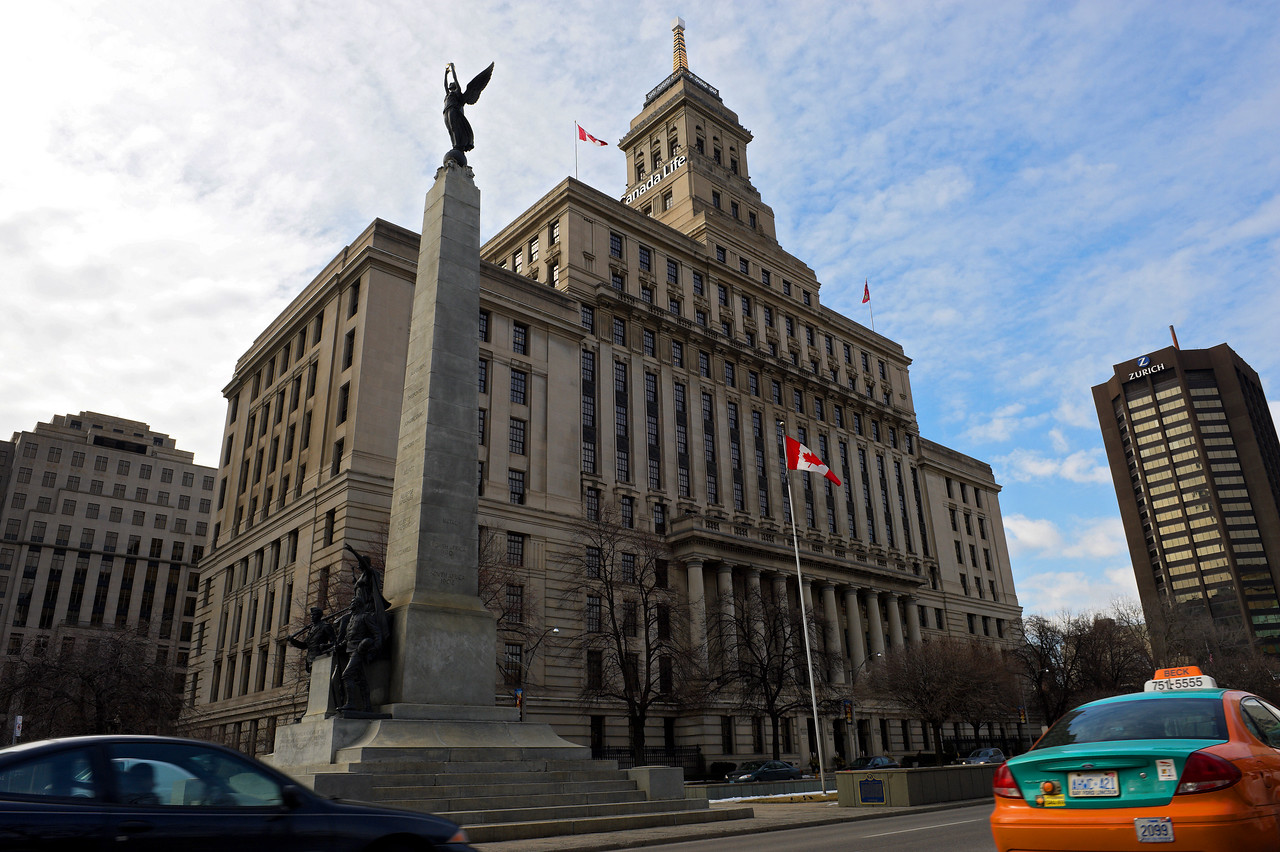 Canada Life Building on University Ave