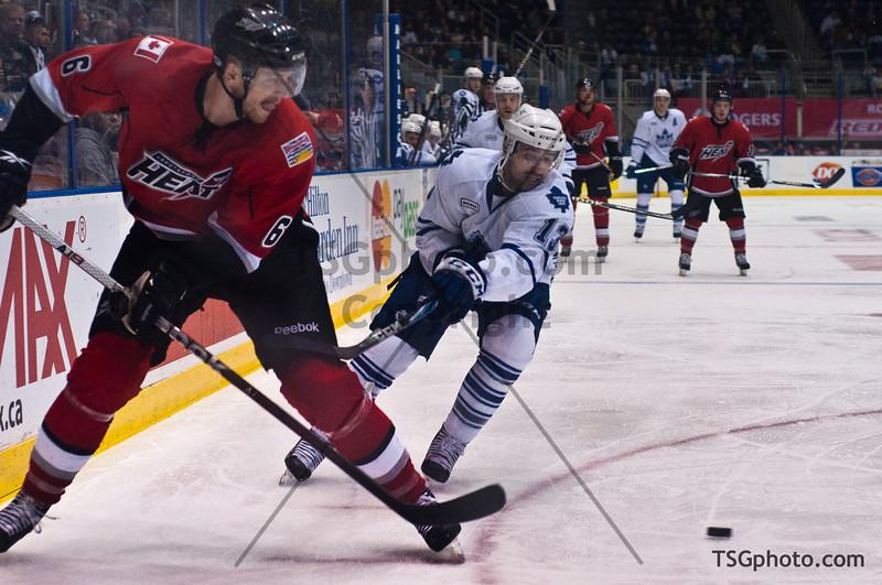 AHL Toronto Marlies vs Abbottsford Heat, Round 2 Game 1, May 1, 2012