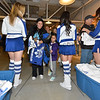 OCTOBER 11, 2014 - TORONTO CANADA - AHL Toronto Marlies open their 2014-2015 American Hockey League season against the Utica Comets at Ricoh Coliseum  (Photo credit: Christian Bonin/TSGphoto.com)