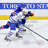 April 11th, 2015 - TORONTO CANADA - In its last regular season home game of the 2014-2015 season, the AHL Toronto Marlies take on the Rochester Americans at Ricoh Coliseum  (Photo credit: Christian Bonin/TSGphoto.com)