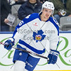 April 25th, 2015 - TORONTO CANADA - The Toronto Marlies  face off against the Grand Rapids Griffins, AHL affiliate of the NHL Detroit Red Wings, in their first game of their playoff push for the Calder Cup.  (Photo credit: Christian Bonin/TSGphoto.com)