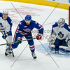 December 7th, 2014 - TORONTO CANADA - The Toronto Marlies  battle against the Rochester Americans, AHL affiliate of the NHL Buffalo Sabres at Ricoh Coliseum  (Photo credit: Christian Bonin/TSGphoto.com)