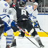 Janaury 2nd, 2015 - TORONTO CANADA - The Toronto Marlies  face off against the San Antonio Rampage, this their first game of 2015, at Ricoh Coliseum  (Photo credit: Christian Bonin/TSGphoto.com)