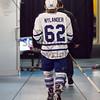 January 24th, 2015 - TORONTO CANADA - The Toronto Marlies  battle against the Hamilton Bulldogs, AHL affiliate of the NHL Montreal Canadiens at Ricoh Coliseum  (Photo credit: Christian Bonin/TSGphoto.com)
