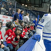 January 31st, 2015 - TORONTO CANADA - The Toronto Marlies  take on the Utica Comets, AHL affiliate of the NHL Vancouver Canucks at Ricoh Coliseum  (Photo credit: Christian Bonin/TSGphoto.com)