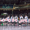 March 21st, 2015 - TORONTO CANADA - The AHL Toronto Marlies  battle against the Rochester Americans at Ricoh Coliseum  (Photo credit: Christian Bonin/TSGphoto.com)