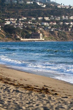 View of Palos Verdes from Torrance Beach