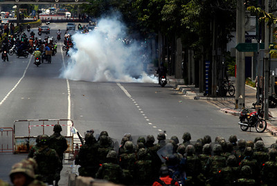 Battle in Bangkok: Troops Fire on Protesters