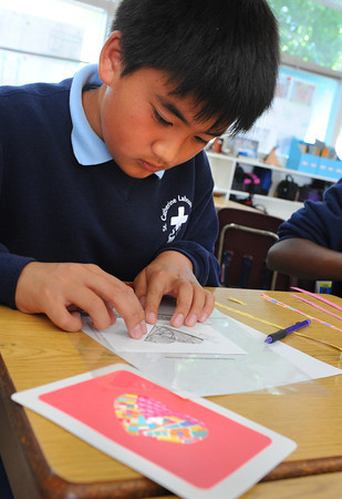 Learning Service at St. Catherine Laboure School
