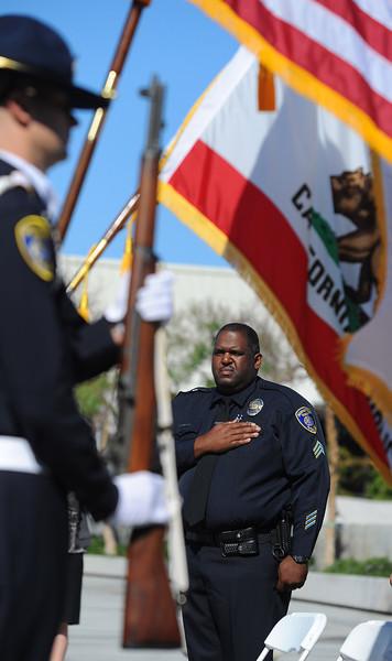 Memorial for Manhattan Beach officers