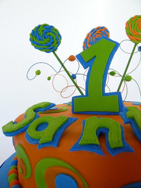 Letras y números realizados de manera artesanal diseñados especialmente.