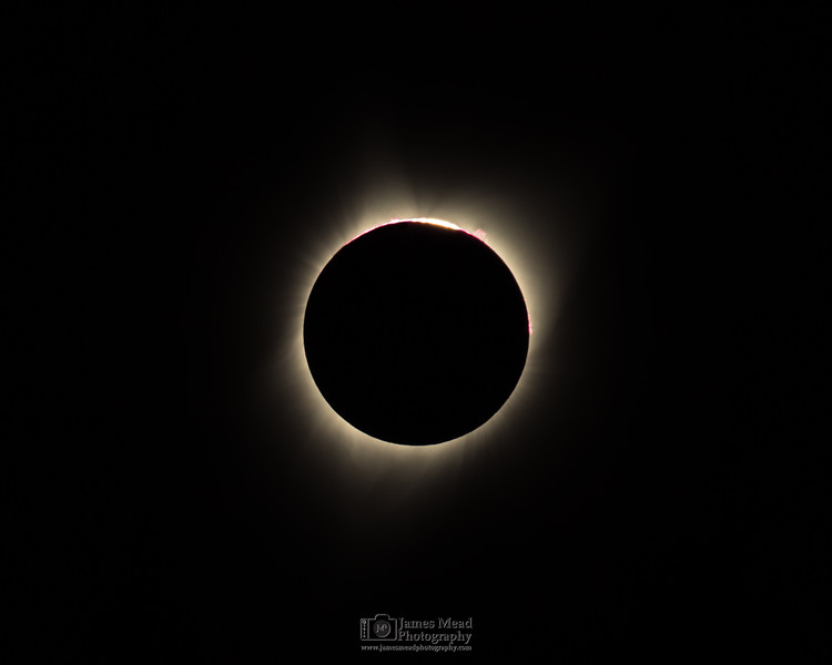 """3rd Contact,"" Total Solar Eclipse, Oregon, United States"