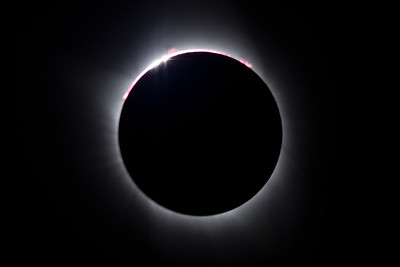 Total Solar Eclipse First Light