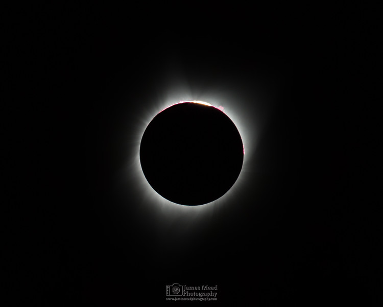 """3rd Contact 2017,"" Total Solar Eclipse, Oregon, United States"