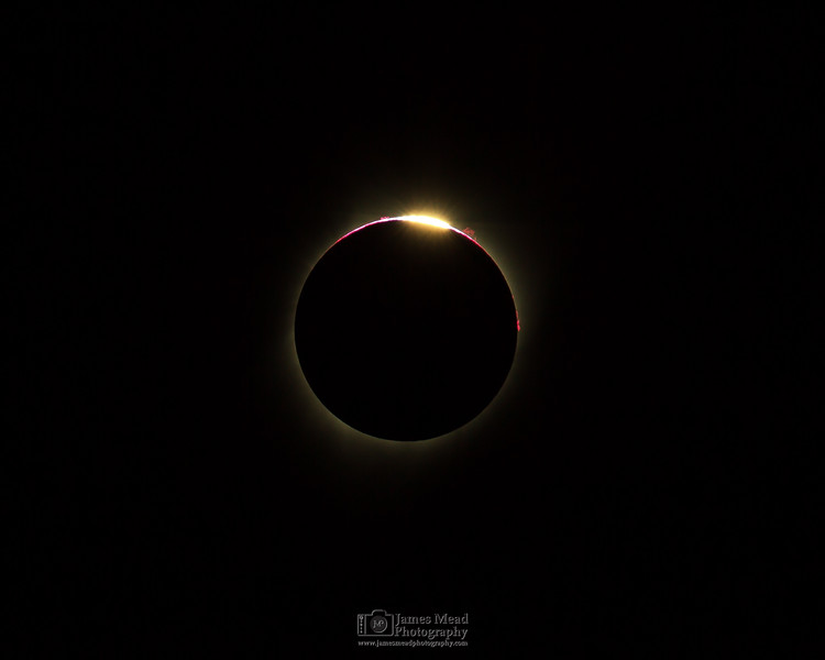 """Black Hole Sun,"" Total Solar Eclipse, Oregon, United States"