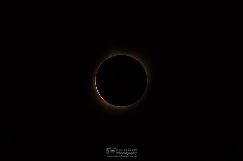 The Diamond Ring: 2nd Contact, Total Solar Eclipse, Oregon, United States