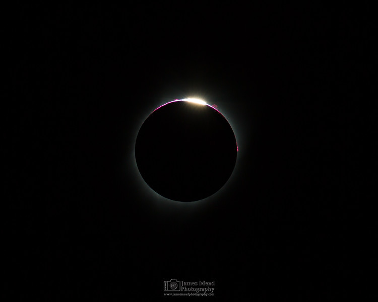 """Black Hole Sun 2,"" Total Solar Eclipse, Oregon, United States"