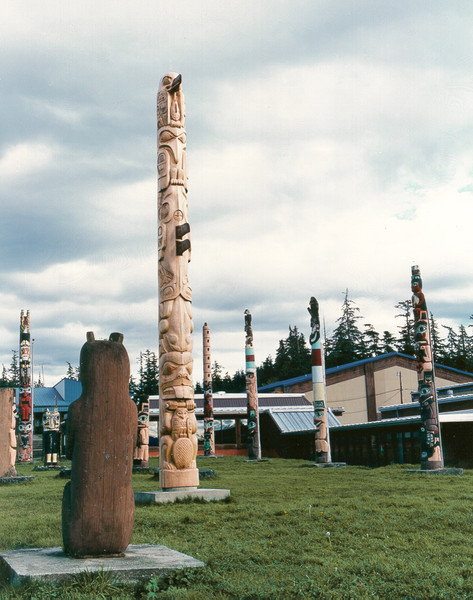 Overview of HydaburgTotem Park