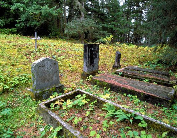 Cemetery at Kasaan, AK