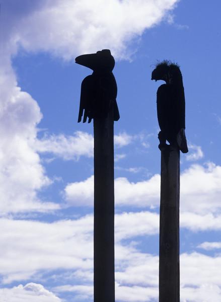 Klawock Eagle & Rave Silhouettes