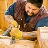 Jonathan O. Rowan, Jr., Tlingit Carver, PO Box 51, Klawock, AK 99925 907-755-2390 Apprentice: Jess