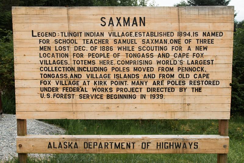 Saxman Village