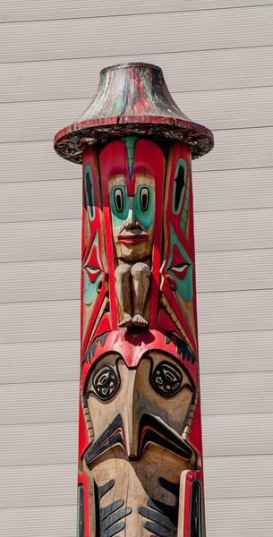 Haida Pole by Donald Varnell