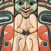 Pole by Israel Shotridge at Ketchikan Indian Center