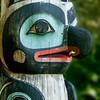 Gaanaxad/Raven Pole in Sitka