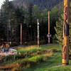 Blackfish Pole in foreground