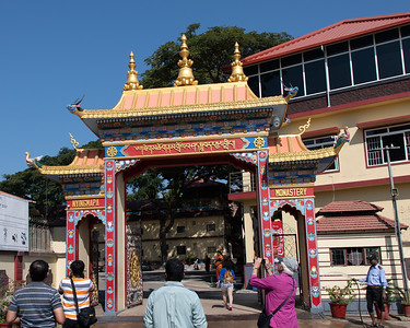 Nyingmapa Monastery - second largest Tibetan monastery in India. Empty land when it was given to the Tibetans by Nehru.