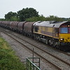 66074 passes Clay Mills Junc on 6E08 Wolverhampton - Masborough