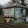 Fiskerton signalbox looking slightly angled!!