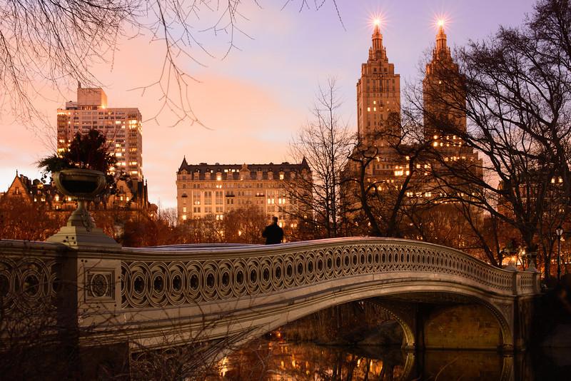 Bow Bridge Reflections