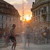 Sunset Splash