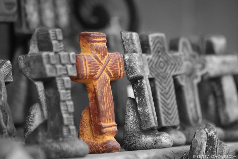 Porcelain Cross